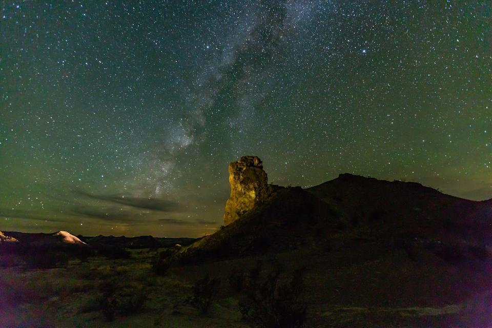 <p>The stars at night are big and bright, deep in the heart of Texas. And there's few better places to spot constellations than in Big Bend National Park. </p>