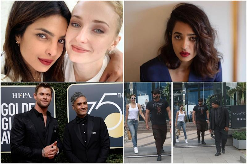 Priyanka Chopra Wishes Sophie Turner for Emmy Nomination, Radhika Apte Upset with Intimate Scene Leak