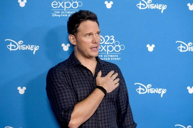 """Chris Pratt plays one of two brothers on a botched quest to bring back their dead father with an obscure spell in the film """"Onward"""" (AFP Photo/Frazer Harrison)"""