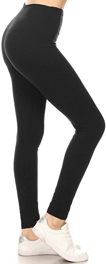 """<strong><h3>Leggings Depot: The Best Budget Legging</h3></strong><br>Ballin' on a budget? These under $10 leggings on Amazon come with a plethora of rave reviews.<br><br><strong>The hype:</strong> 4.5 out of 5 stars and 3,485 reviews on Amazon<br><br><strong>What they're saying:</strong> """"Soft, comfortable, flattering, and long-leg-friendly. I am 6'0"""" and medium build with a 34"""" inseam and these hit right at the top of my ankle bone—a very satisfactory and versatile length for a legging. The fit is sleek in a good way, hugging curves without being either too-tight and revealing or too loose and baggy. I have the black color and it is dark and opaque enough to wear a more cropped shirt with if desired. No see-through sections at all. The waist is high, hitting right at my natural waistline. I'm partial to a high waist (and this is the point in the review where I out myself as a mom of 5), but if you want a lower rise these may not be the leggings for you. Overall, I am very happy with these and would consider ordering additional pairs or colors. They replaced a pair of dying big box store leggings and totally blew them out of the water in fit and quality, at the same price point!"""" - Munchasaurus, Amazon Review<br><br><strong>Leggings Depot</strong> High Waisted Active Flex Leggings, $, available at <a href=""""https://amzn.to/3nanjqT"""" rel=""""nofollow noopener"""" target=""""_blank"""" data-ylk=""""slk:Amazon"""" class=""""link rapid-noclick-resp"""">Amazon</a>"""
