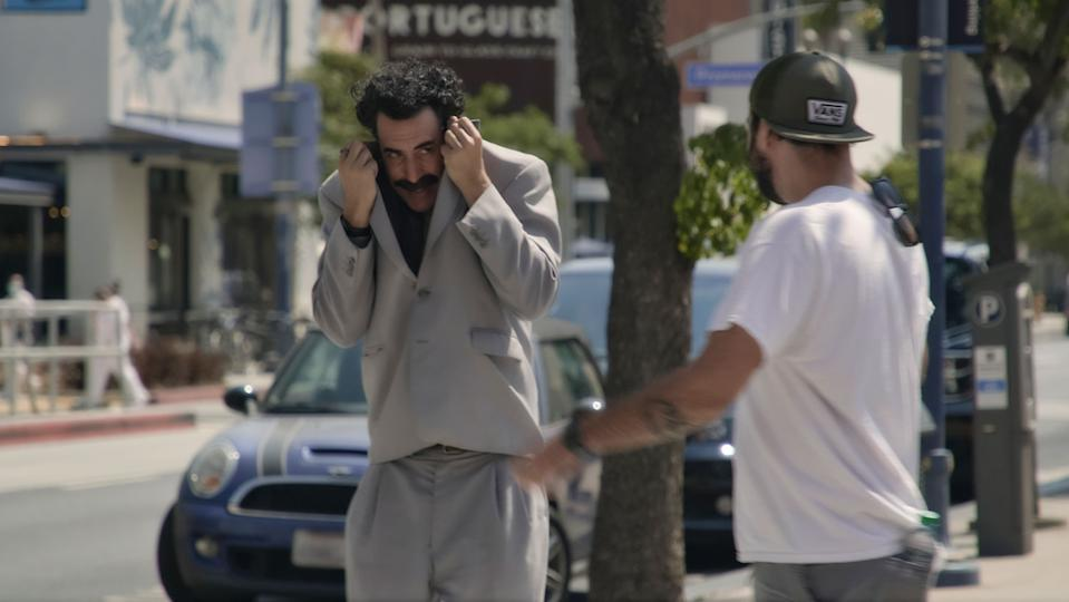 The surprise return of Sacha Baron Cohen's most famous creation just before the US election generated a huge amount of buzz online, with people desperate to learn what he had up his sleeve.