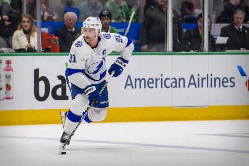 NHL: Tampa Bay Lightning at Dallas Stars