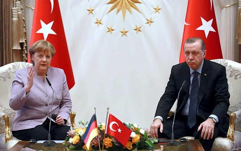 Erdogan and are Merkel engaged in a fresh war of words - This content is subject to copyright.