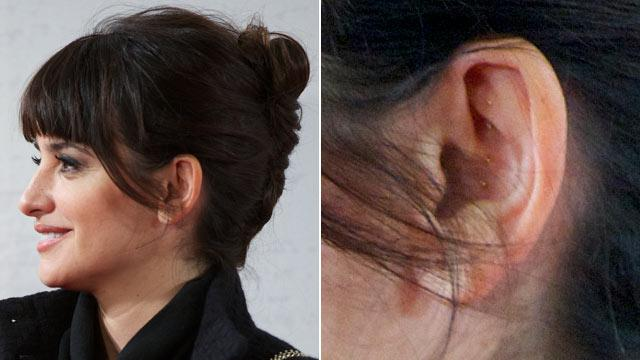 Why Are Penelope Cruz's Ears Studded?