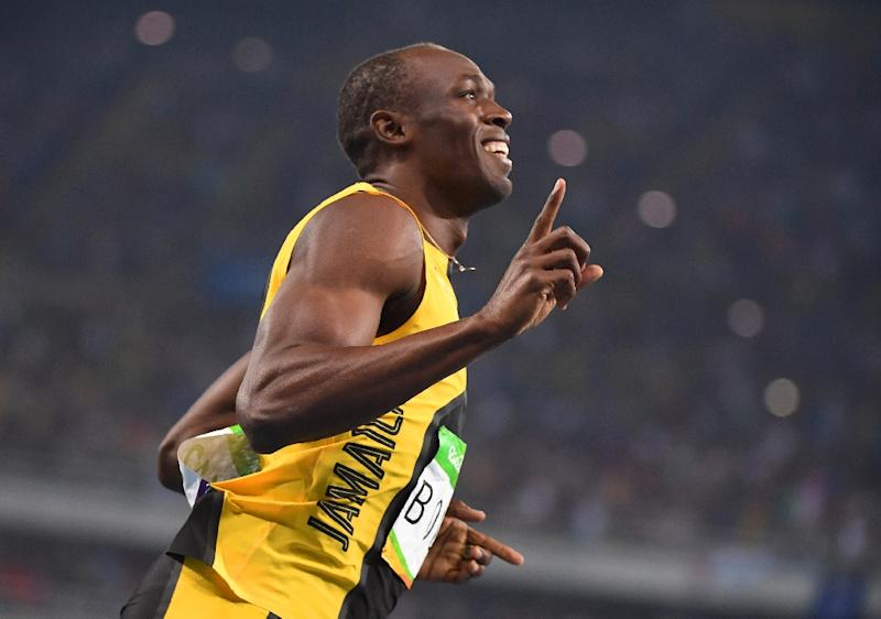 'Lightning' strikes thrice as Bolt completes 100m hat-trick