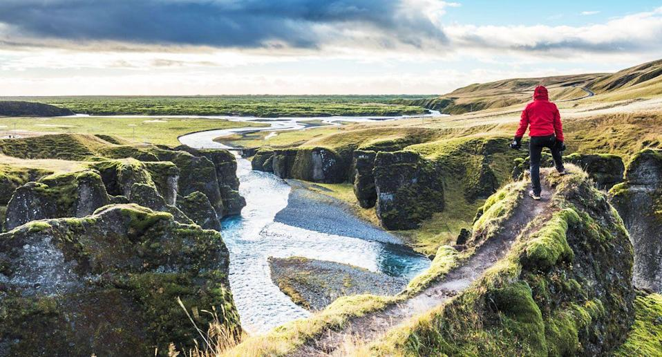 A Russian tourist, not pictured, faced backlash and a hefty fine after off-roading in Iceland. [Photo: Getty]