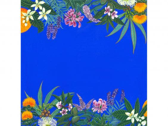 This vibrant print reminds of beach walks and summer holidays (Vanderohe)