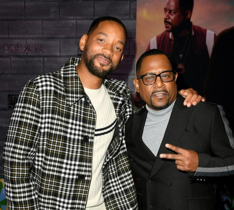 "Will Smith (L) and Martin Lawrence arrive at the Hollywood premiere of ""Bad Boys For Life"" on January 14, 2020"