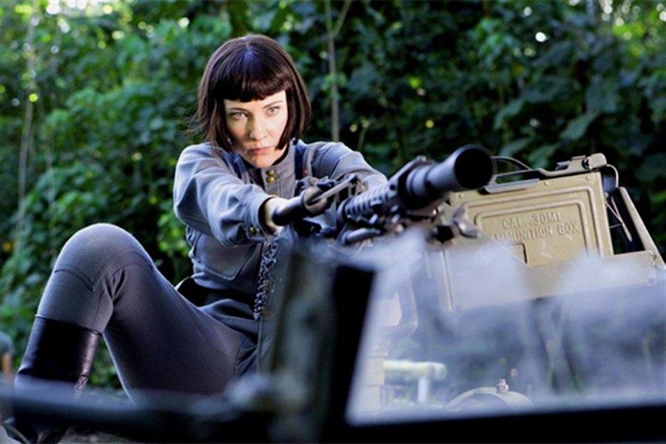 Cate starred in Steven Spielberg's Indiana Jones and the Kingdom of the Crystal Skull