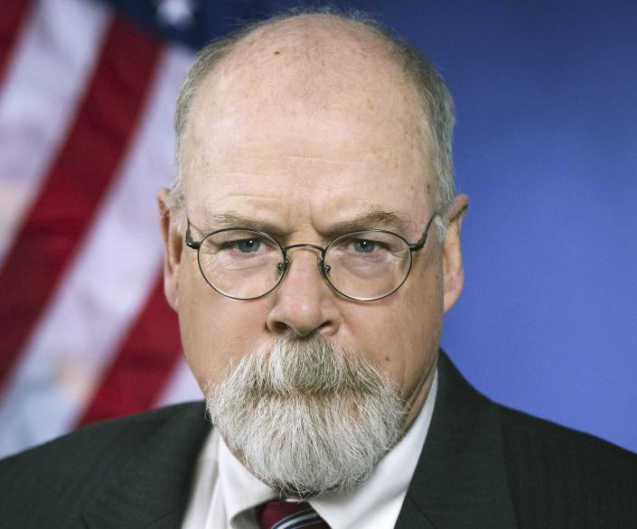 U.S. Attorney John Durham. (U.S. Department of Justice via AP)