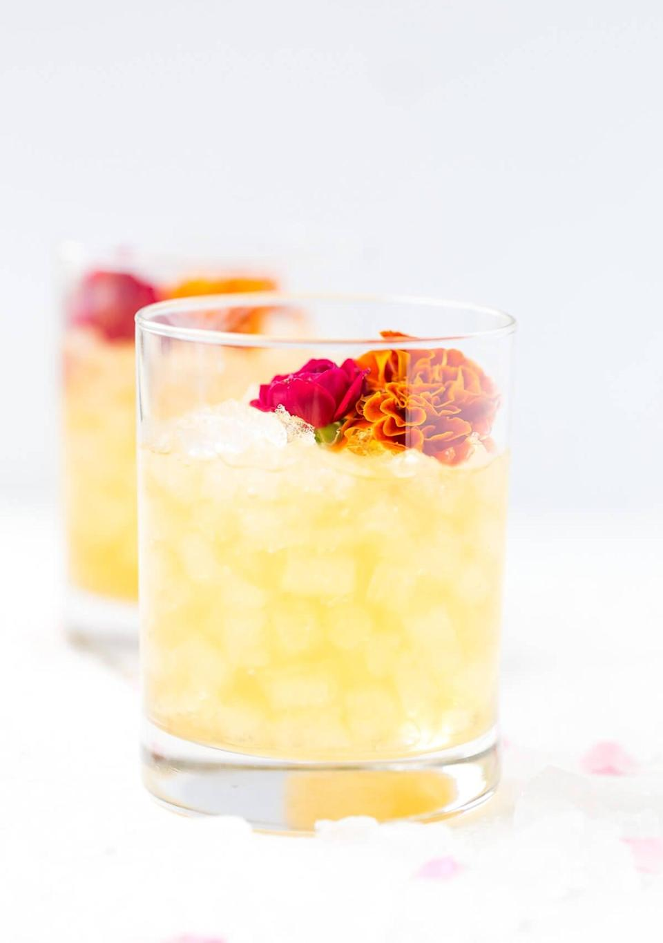 """<p>Shoutout to Pennsylvania for knowing what's up! Locals are on the hunt for whiskey sour recipes, which ties in perfectly with the warmer months ahead. This chic recipe utilizes edible flowers, which means the garnishing will be grand. </p> <p><strong>Get the recipe</strong>: <a href=""""https://www.popsugar.com/buy?url=https%3A%2F%2Fazestybite.com%2Ffloral-whiskey-sour%2F&p_name=floral%20whiskey%20sour&retailer=azestybite.com&evar1=yum%3Aus&evar9=47471653&evar98=https%3A%2F%2Fwww.popsugar.com%2Ffood%2Fphoto-gallery%2F47471653%2Fimage%2F47474655%2FPennsylvania-Whiskey-Sour&list1=cocktails%2Cdrinks%2Calcohol%2Crecipes&prop13=api&pdata=1"""" class=""""link rapid-noclick-resp"""" rel=""""nofollow noopener"""" target=""""_blank"""" data-ylk=""""slk:floral whiskey sour"""">floral whiskey sour</a></p>"""