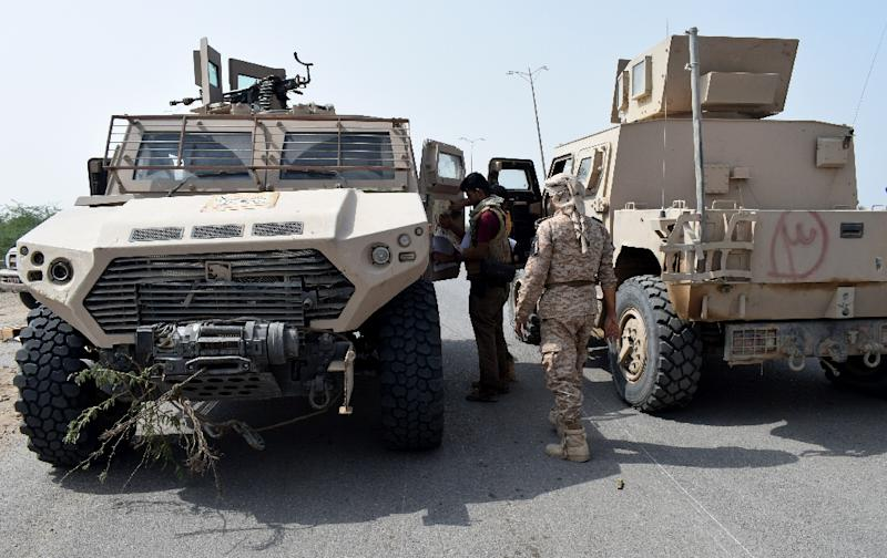 Yemeni pro-government forces near Hodeida in November, 2018