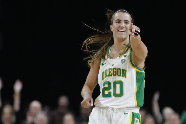 Oregon's Sabrina Ionescu will inspire viewers with her own story on Yahoo Sports. (AP Photo/John Locher)
