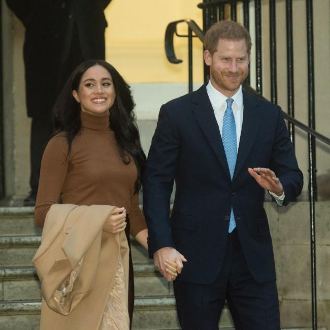 The Duke and Duchess of Sussex credit:Bang Showbiz