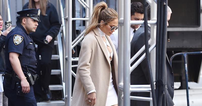 Jennifer Lopez spotted out and about in Manhattan on May 16, 2016 in New York City (Copyright: Getty/Josiah Kamau)