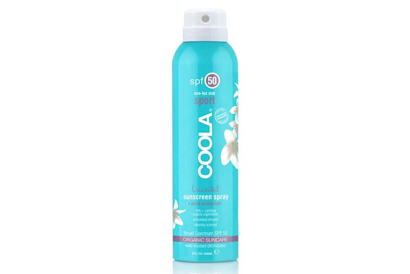 Eliminate sweat with Coola's SPF 50