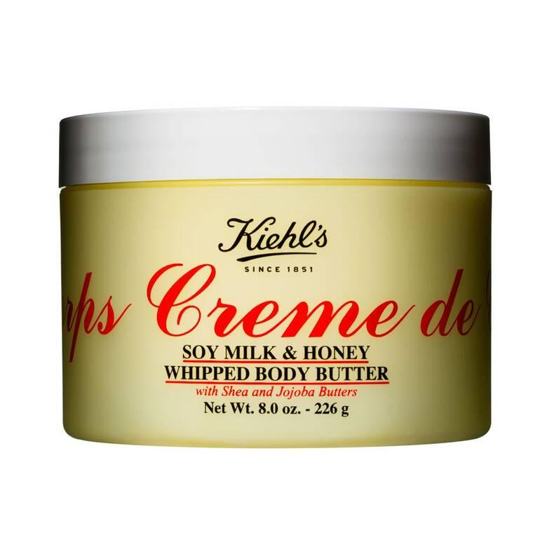 Creme de Corps Soy Milk & Honey Whipped Body Butter. Image via Kiehl's.