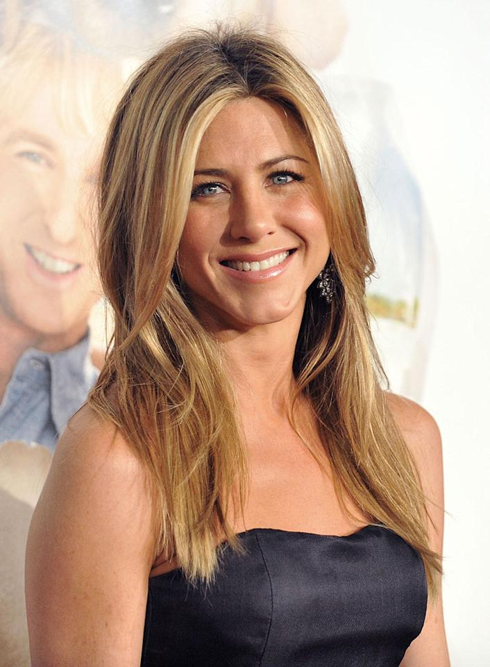 "Jennifer Aniston was born into the business. Her father was Greek-American actor John Aniston (birth name: Yannis Anastasskis) who appeared in a number of soap operas. Her godfather was fellow Greek TV star Telly Savalas. She grew up in New York City and attended the LaGuardia High School of Music & Art and Performing Arts (the inspiration for the movie ""Fame""). She shares her birthday, February 11, with Sheryl Crow, Burt Reynolds, Eva Gabor, and Sarah Palin."