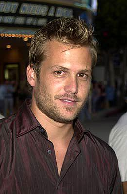 Premiere: Gabriel Macht at the Westwood premiere of Warner Brothers' American Outlaws - 8/14/2001