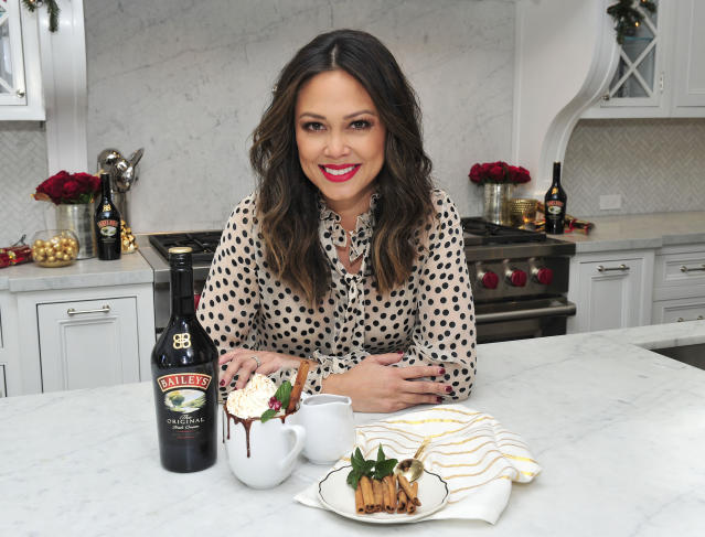 Vanessa Lachey shares her entertaining tips. (Photo: Michael Simon/StarTraks)