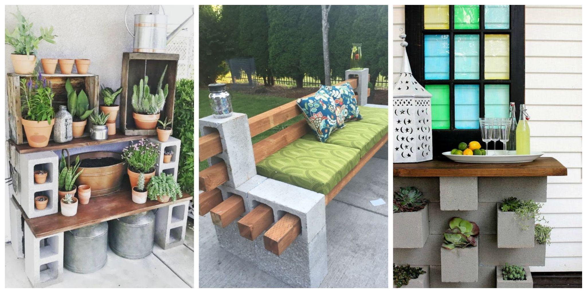 The Cool Thing People Are Doing With Cinder Blocks In