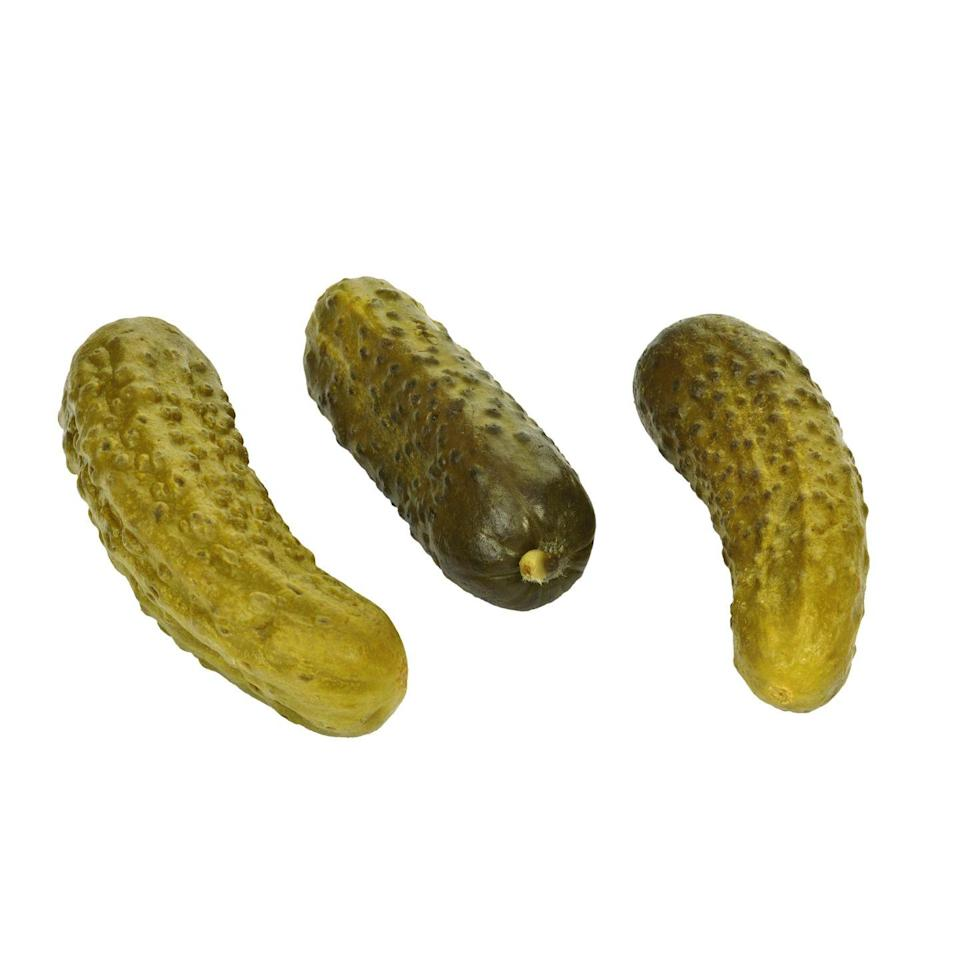 <p><strong>Tangy, salty, and crunchy,</strong> pickles are an ideal snack. And with less than 1g of net carbs per spear, you can munch on more than one. (Just don't eat the whole jar since they pack a lot of sodium!).</p>