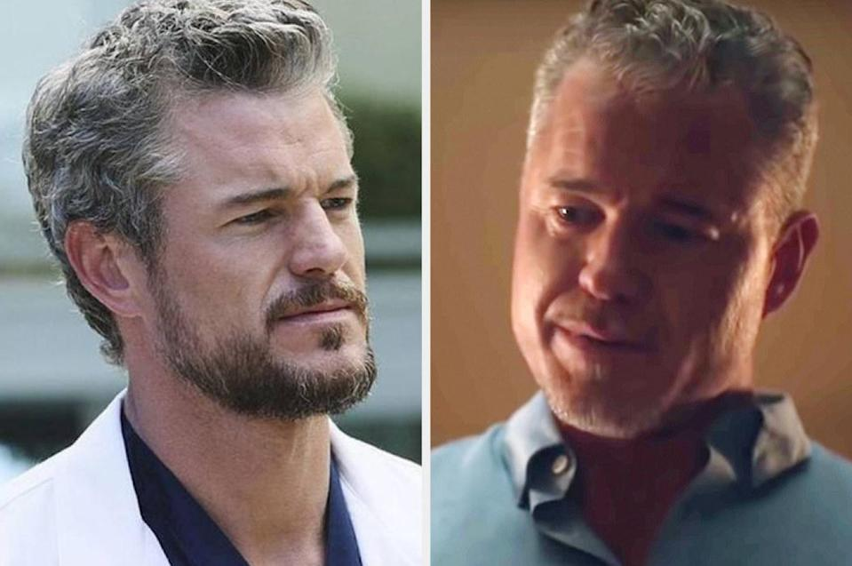 Both played by: Eric Dane