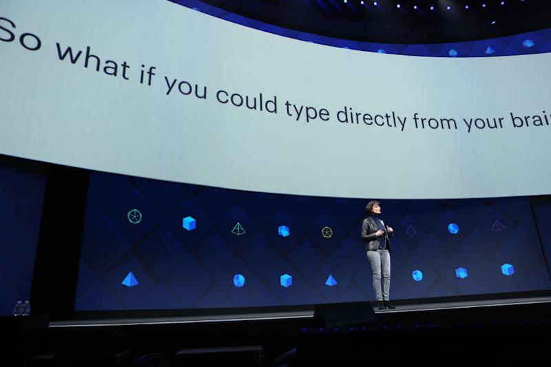 Facebook's Wild Vision for the Future: Typing With Your Brain