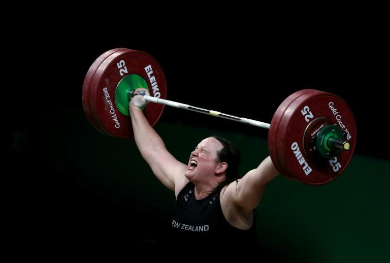 Hubbard competed in women's weightlifting at the 2018 Commonwealth Games in Australia
