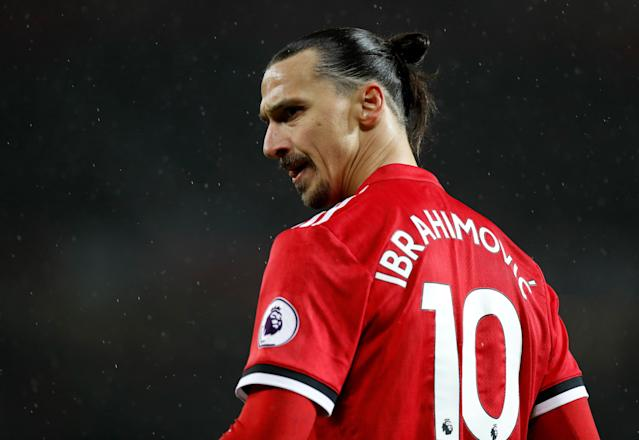 Manchester United's Zlatan Ibrahimovic could be leaving Old Trafford this year.