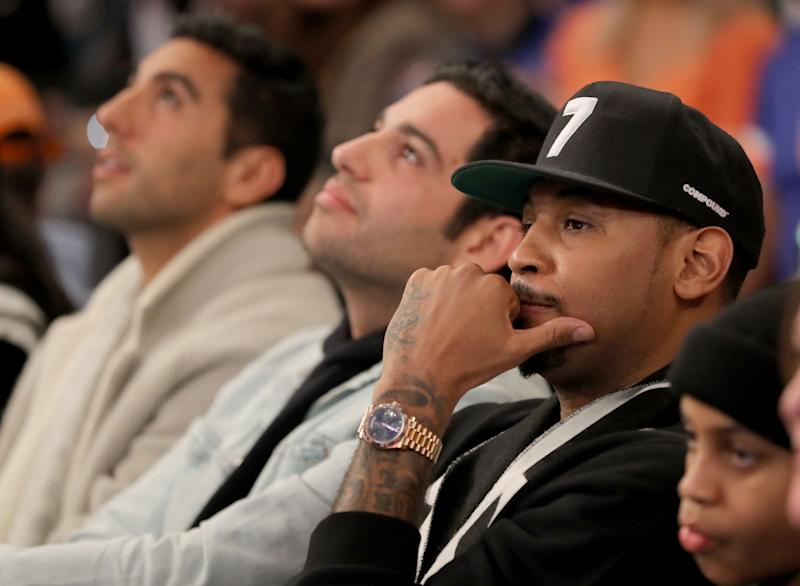 Would Carmelo Anthony accept a secondary role in Brooklyn? (Getty)