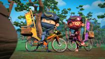 <p>Seasons one through four of this animated series are available to watch now.</p>