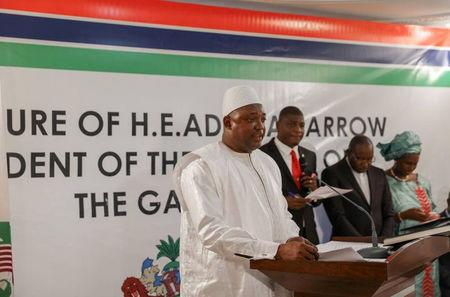 Gambian President Barrow to return home Thursday: aide