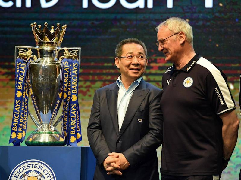 'Everything he touched became better,' said Claudio Ranieri of his former boss (Getty)