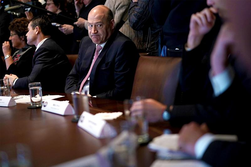 Trump Was Going to Name Gary Cohn Head of the C.I.A. Because, Why Not?