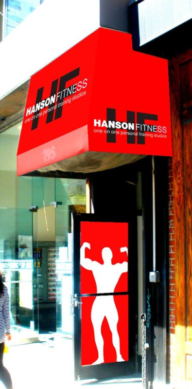 Want to workout nude? It's only in New York's Hanson Fitness at the moment. Photo: Facebook