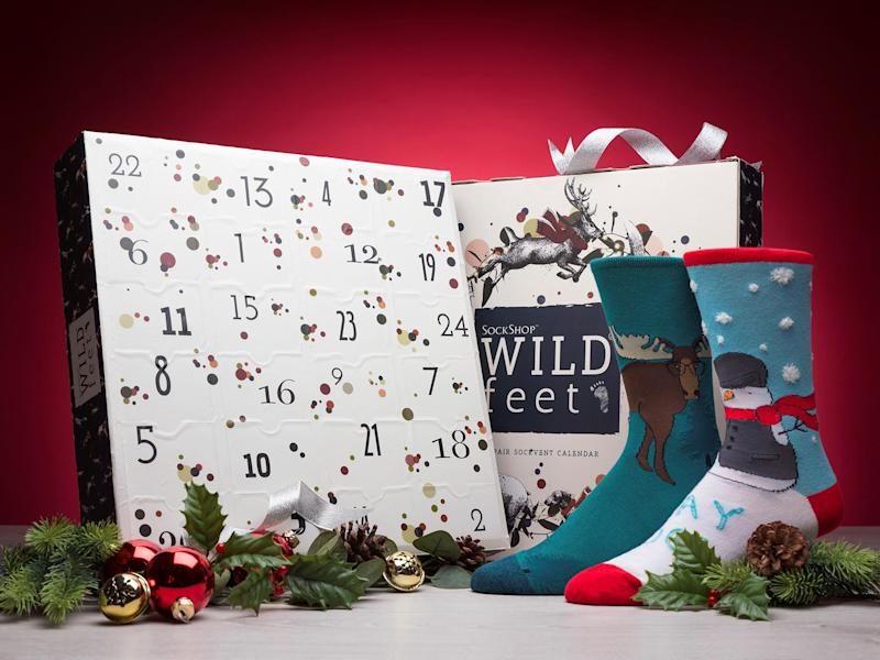 You can never have too many socks, especially at Christmas: SockShop