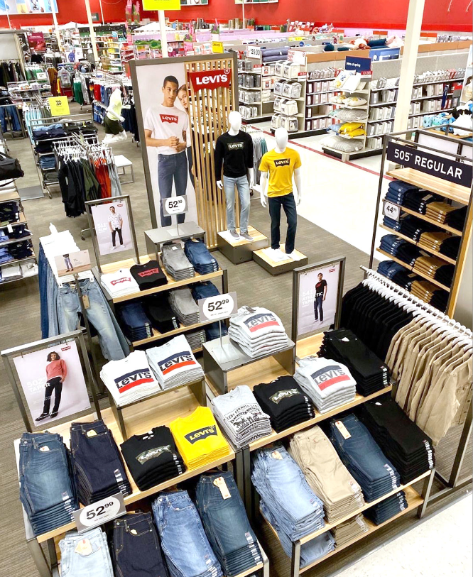 Levi's is expanding at Target stores in the U.S. [Credit: Target]