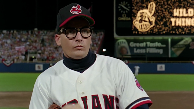 "Chief Wahoo was a big part of the classic film ""Major League,"" but it's creator says, ""It's time to move on."" (Morgan Creek)"