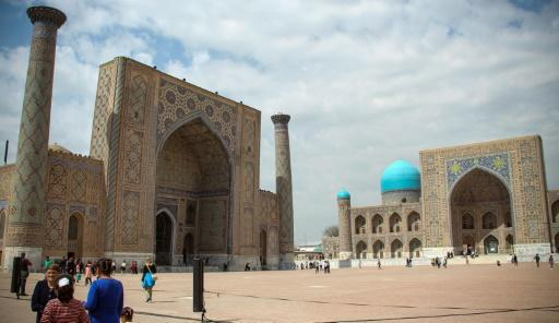 Samarkand is positioned at the epicentre of millennia-old trade routes linking China and Europe
