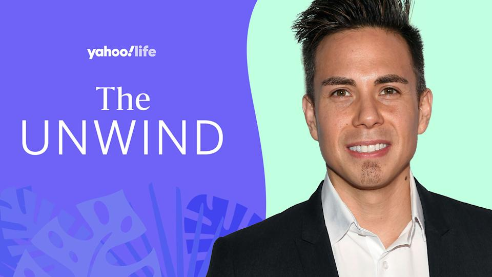 Olympic great Apolo Ohno uses breathing to control his stress. (Photo: Getty; designed by Quinn Lemmers)