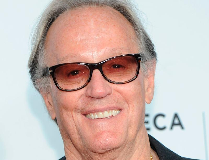 """Actor Peter Fonda, the son of a Hollywood legend who became a movie star in his own right after both writing and starring in the counter-culture classic """"Easy Rider,"""" died on Aug. 16, 2019. He was 79."""