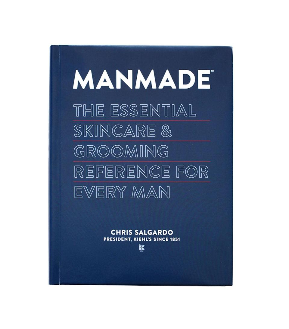 "<p>All guys love Kiehl's (and if they haven't tried it, they just don't know it yet). This manual by the brand's incredibly cool and philanthropic president is a modern day grooming guide for athletes, bad boys, hipsters, and gentleman alike. <a href=""http://www.kiehls.com/manmade/KHL220.html?dwvar_KHL220_size=Book"" rel=""nofollow noopener"" target=""_blank"" data-ylk=""slk:Manmade: The Essential Skincare and Grooming Reference for Men"" class=""link rapid-noclick-resp"">Manmade: The Essential Skincare and Grooming Reference for Men</a> ($30)</p>"