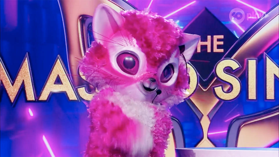 The Kitten Masked Singer AU 2020 sings The Day You Went Away makes Jackie O cry