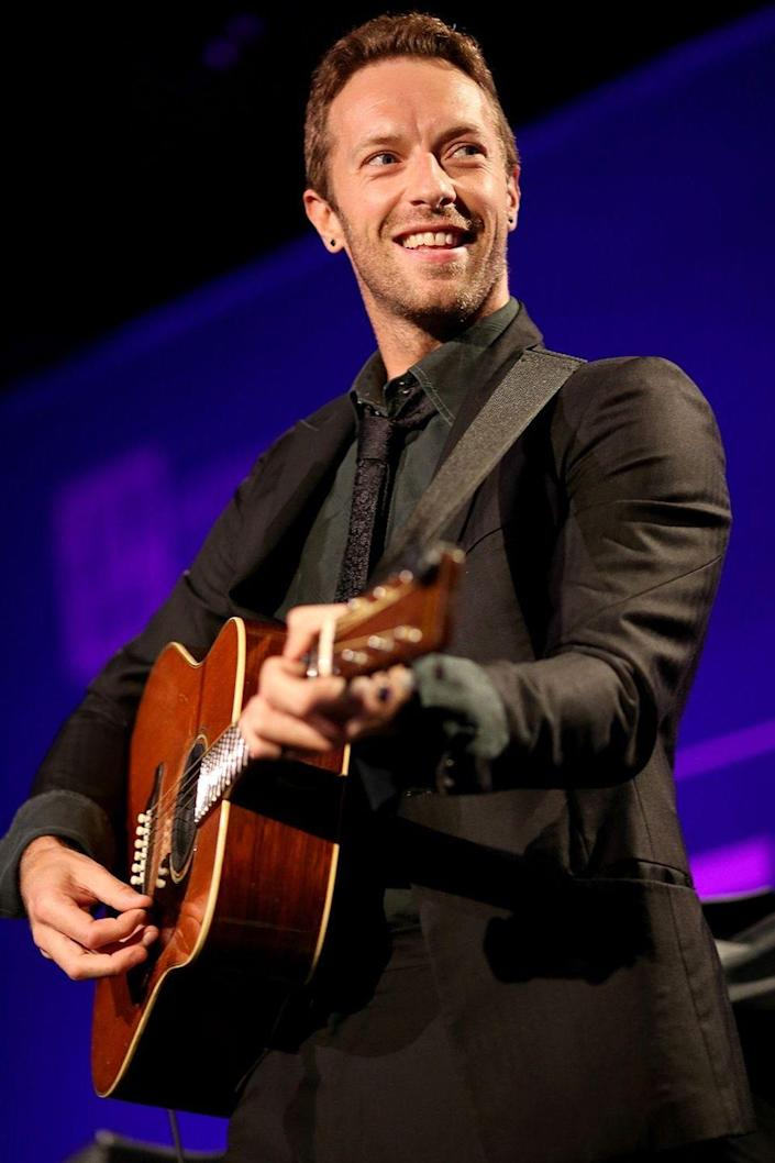 """<p>The lead singer of <em>Coldplay </em>admits the band indulged a party phase early on, but now Martin himself completely embraces the sober life. </p><p><em>[h/t <a href=""""https://www.theguardian.com/music/2005/may/28/popandrock.coldplay"""" rel=""""nofollow noopener"""" target=""""_blank"""" data-ylk=""""slk:The Guardian"""" class=""""link rapid-noclick-resp"""">The Guardian</a></em></p>"""