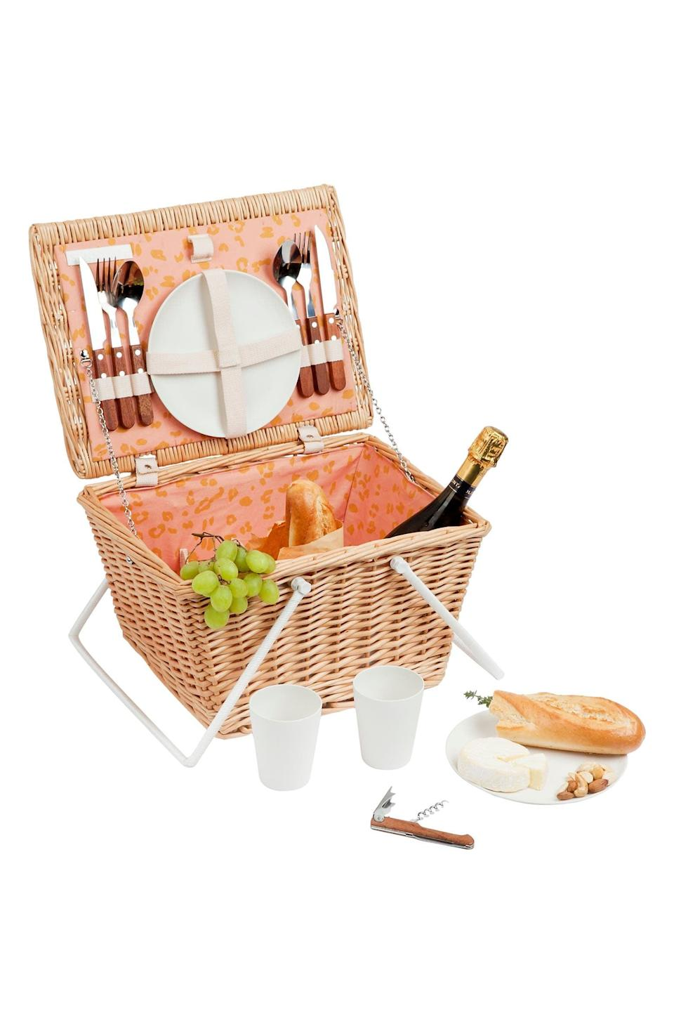 <p>The <span>Sunnylife Eco Small Picnic Basket</span> ($160) is all you need to enjoy the warm weather with an elevated picnic. </p>