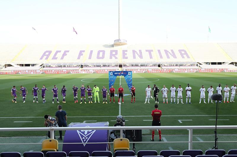 FLORENCE, ITALY - SEPTEMBER 19: General view during the Serie A match between ACF Fiorentina and Torino FC at Stadio Artemio Franchi on September 19, 2020 in Florence, Italy. (Photo by Gabriele Maltinti/Getty Images)