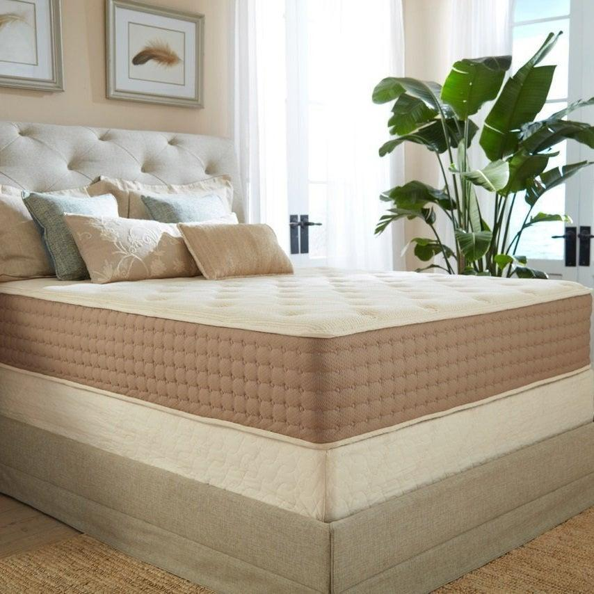"""<strong><h3><a href=""""https://www.plushbeds.com/Botanical-Bliss-Organic-Latex-Mattress-new.html"""" rel=""""nofollow noopener"""" target=""""_blank"""" data-ylk=""""slk:PlushBeds The Botanical Bliss Organic Latex Mattress"""" class=""""link rapid-noclick-resp"""">PlushBeds The Botanical Bliss Organic Latex Mattress</a></h3></strong><br><strong>Mattress Type: </strong>Organic Latex, Wool, & Cotton<strong><br>Sleeper Style: </strong>Side<strong><br>Pros: </strong>Pressure Relief <strong><br>Cons:</strong> Price Point<br><br>""""When I was asked if I wanted to review a mattress, I volunteered immediately. I've been sleeping on a cheap one for the past three years, and, especially in the past few months, my back has been feeling it. I'm a side sleeper, so I opted to try out PlushBeds Botanical Bliss Organic Latex Mattress, which earned mattress review site Tuck's highest rating for side sleepers of any weight. Plus, the brand was named the best mattress brand of 2018, and who doesn't love luxury?""""<br><br>""""When I think latex, I think of the rubbery material that makes <a href=""""https://www.refinery29.com/en-us/polyisoprene-condoms-non-latex"""" rel=""""nofollow noopener"""" target=""""_blank"""" data-ylk=""""slk:condoms"""" class=""""link rapid-noclick-resp"""">condoms</a>, clothing, and thigh-high boots — not a soft, comfortable mattress. But PlushBeds uses layers of organic Dunlop latex, each layer calibrated to a different firmness, to lend support and softness to the mattress. The latex is the bottom layer of the mattress, beneath a layer of organic wool for temperature regulation and a layer of organic cotton for moisture absorption and unrestricted airflow. All these layers mean that the mattress is very heavy — PlushBeds sent an agent to carry it to my third-floor walkup for me, which was great because I could not have managed it on my own.""""<br><br>""""All this weight has a use, though: the mattress cradles the pressure points of your body, reducing aches; PlushBeds is often recommended by chiropractors and orthopedic specia"""
