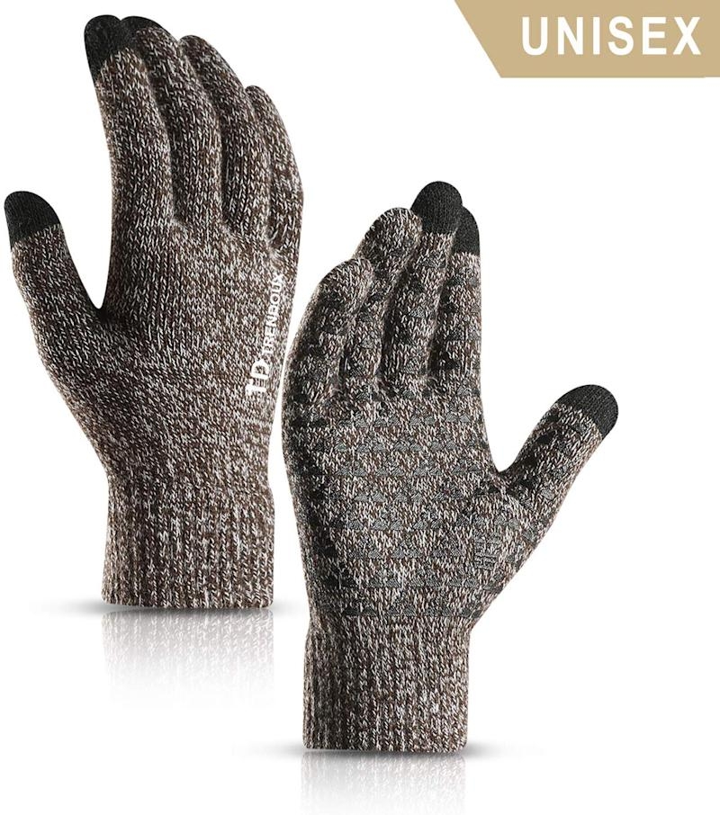 Unisex Knit Touch Screen