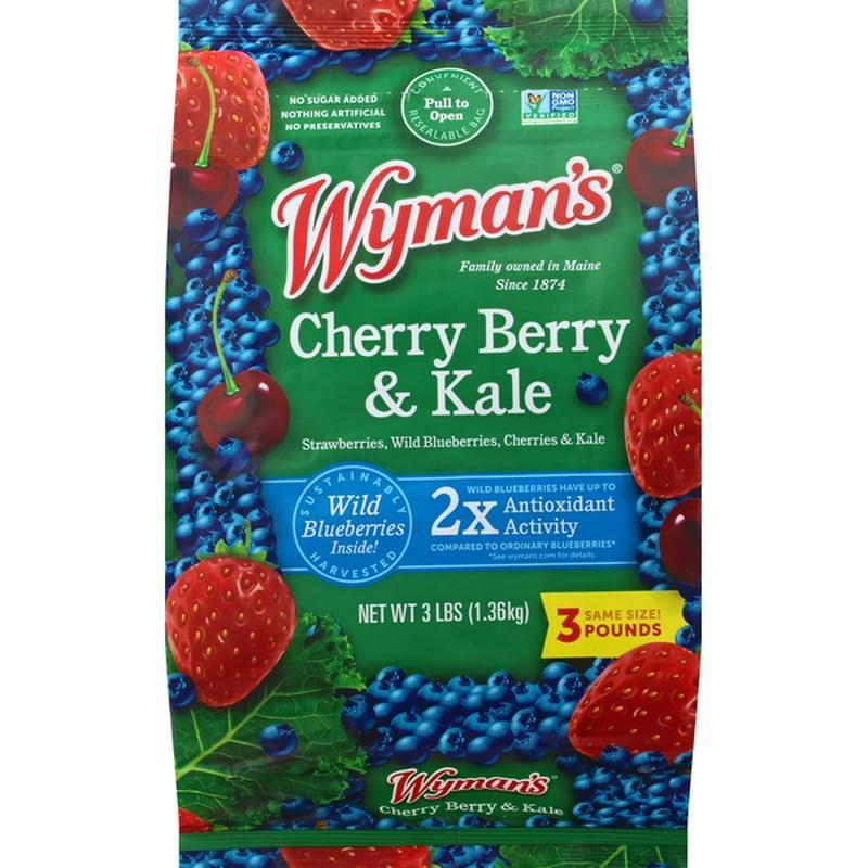 """<p>If smoothies are your jam, try adding <span>Wyman's Cherry Berry and Kale Frozen Fruit</span> ($14) to your cart. Eating more fruits and veggies is <a href=""""http://www.cdc.gov/healthyweight/healthy_eating/fruits_vegetables.html"""" class=""""link rapid-noclick-resp"""" rel=""""nofollow noopener"""" target=""""_blank"""" data-ylk=""""slk:linked to a healthy weight"""">linked to a healthy weight</a>, and this mix of frozen wild blueberries, cherries, and kale makes getting your fill so easy. Simply toss a handful in a blender with some liquid and protein for a breakfast that's loaded with antioxidants, fiber, and a slew of vitamins and minerals.</p>"""